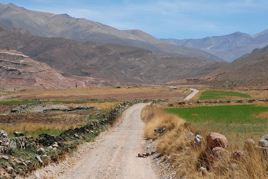 Fruchtbares Tal bei La Poma
