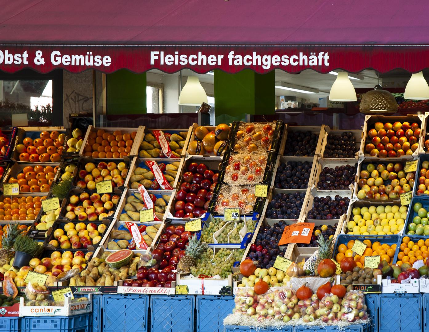 Fruchtfleisch-Fachgeschäft