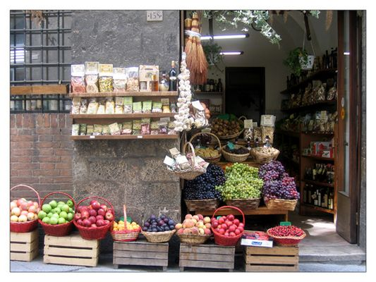 Früchte aus Italien ....