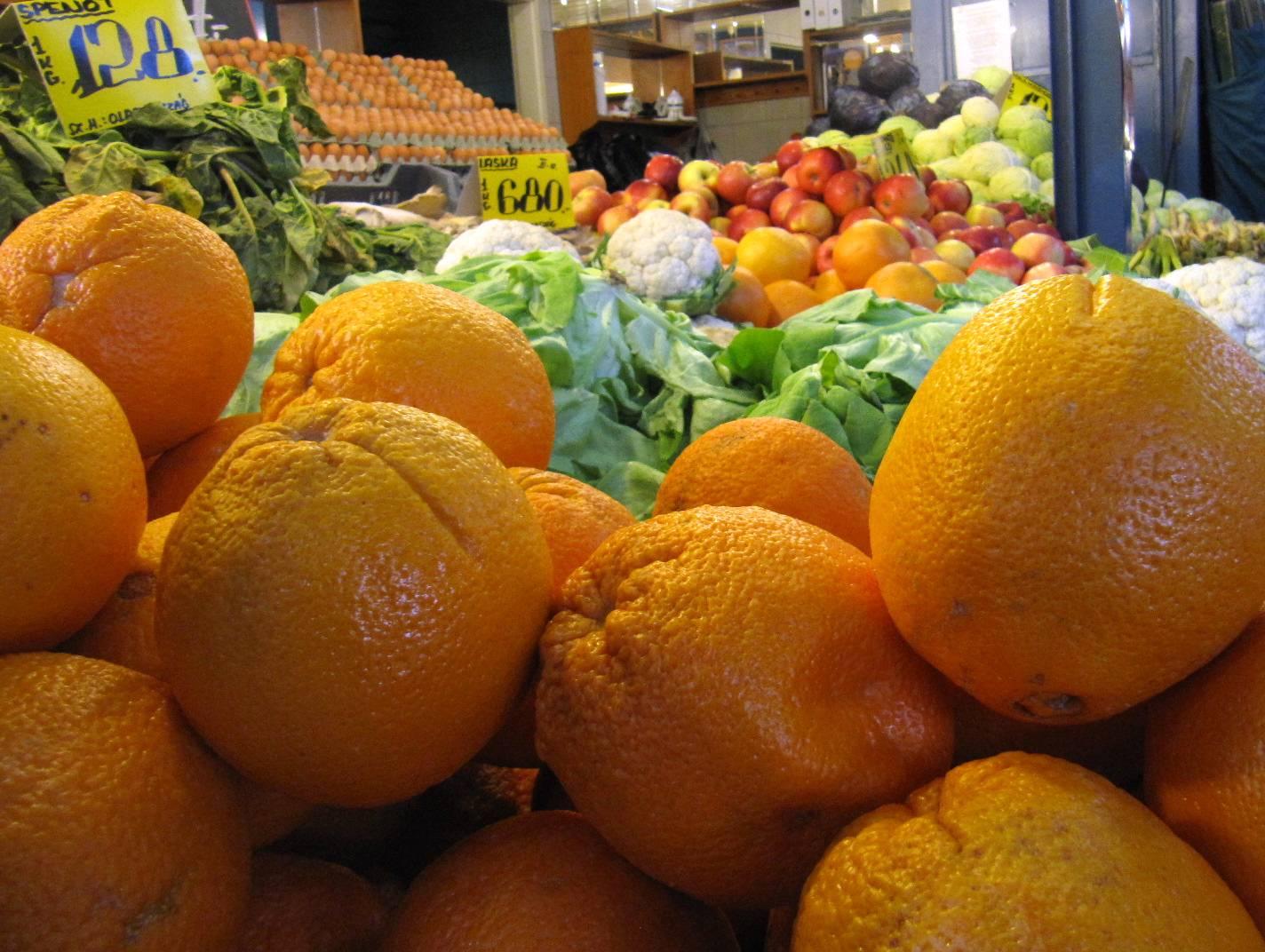 Früchte- & Gemüsemarkt Budapest ...