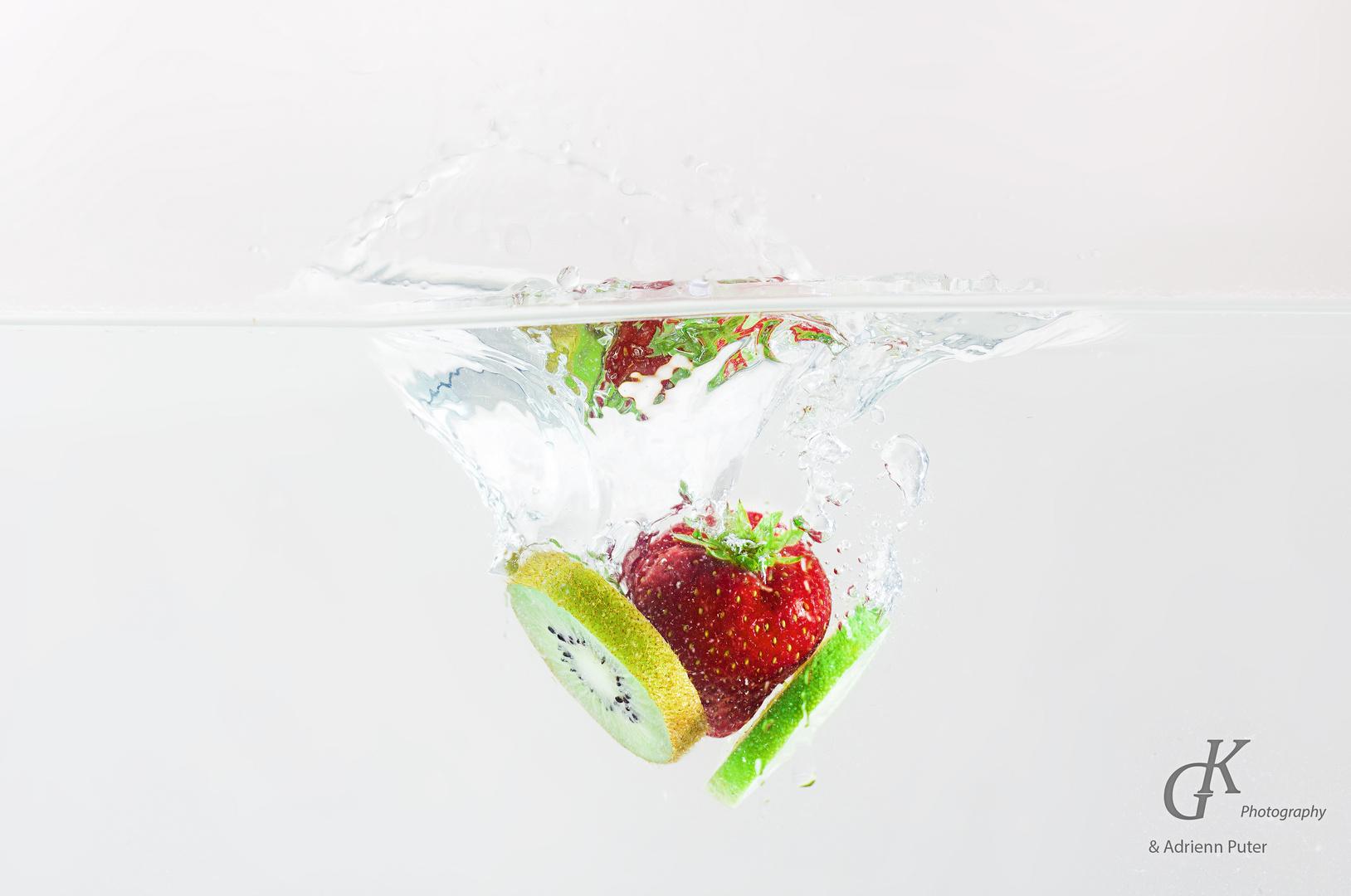 Früchte Splash