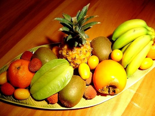 Früchteschale mit...