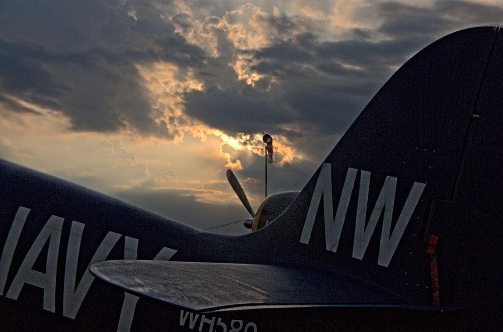 Früh am Morgen an der Flightline_1