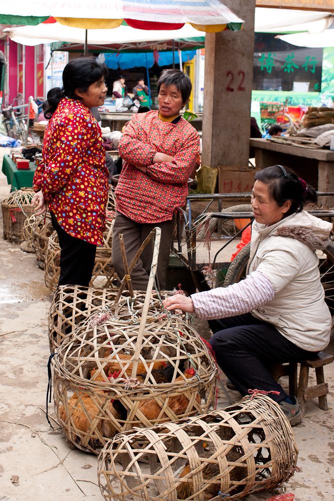 Früh auf dem Markt