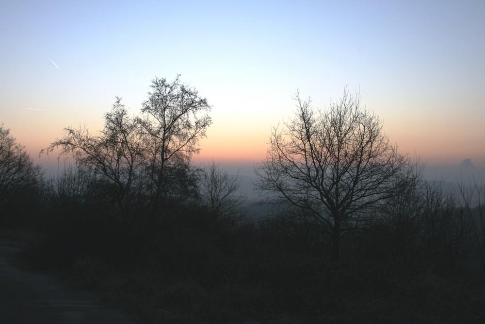 Früh morgens