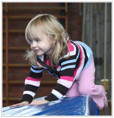 Früh übt sich... - beim Kleinkinder-Sport