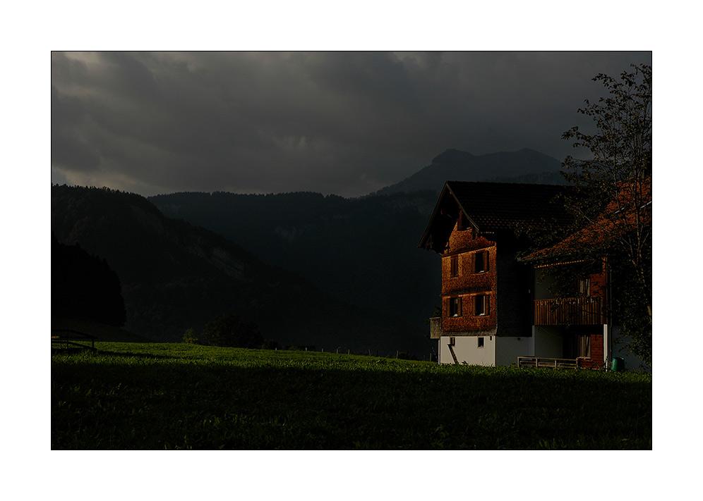 früh um halb 9 in Vorarlberg...