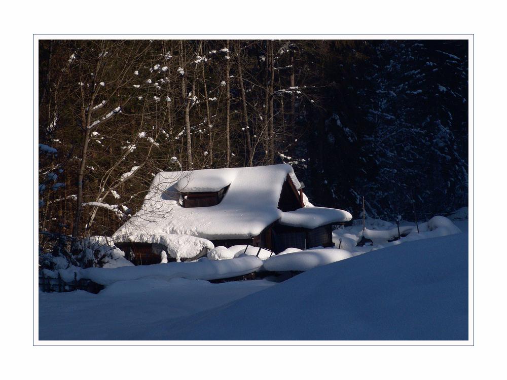 früher ein normaler Winter, heute ein Wunschtraum