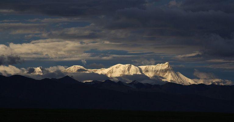 früher Morgen am Nyanchen Thanghla, Nam Tso, Tibet
