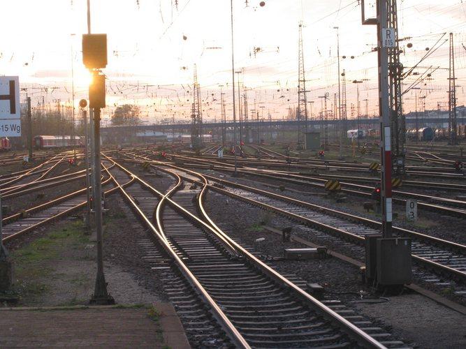 Früher Morgen in Mannheim