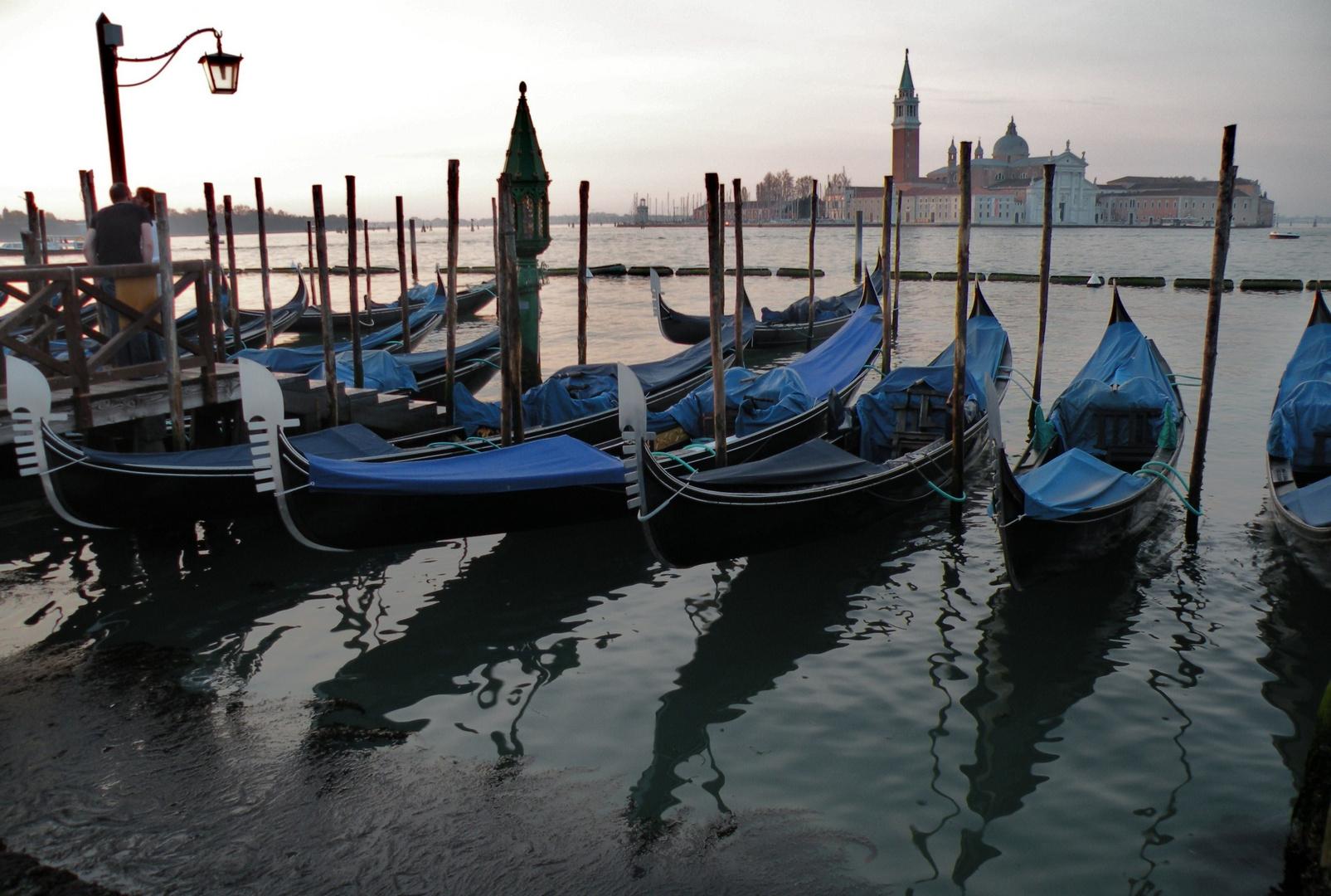 früher Morgen in Venedig