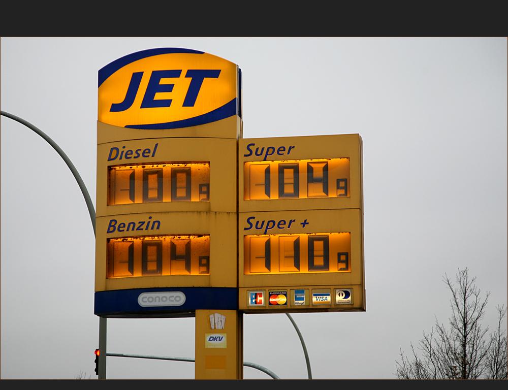 Früher war das Benzin noch billiger