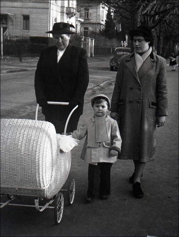 Früher war ein Kinderwagen noch ein