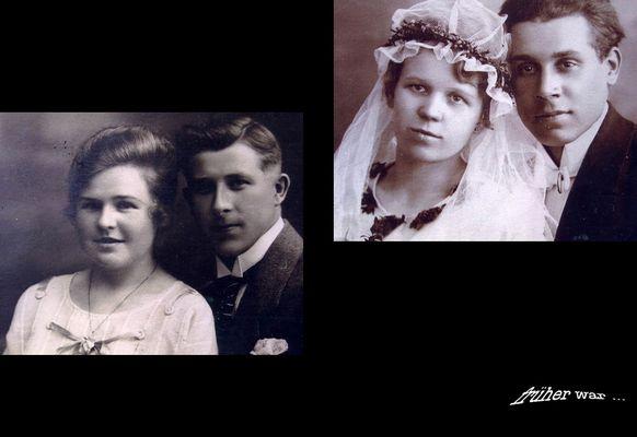 Früher war ... en meine Großeltern