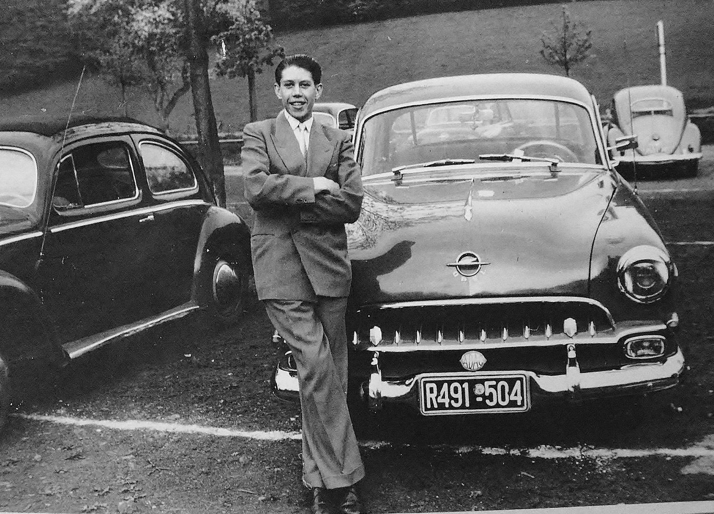 """""""Früher war es""""...ein schwarzer Opel Kapitän..."""