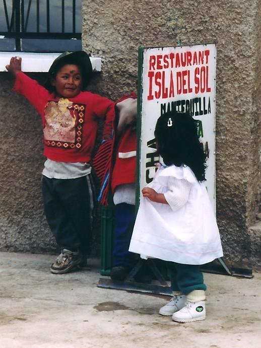 Frühes Werben (Isla del Sol, Peru)