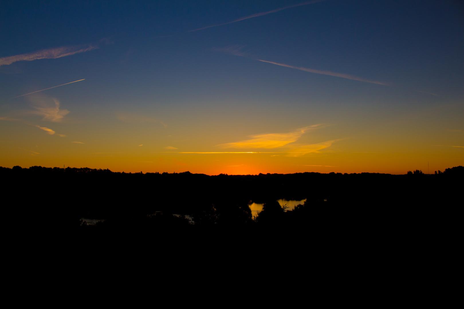 frühherbstlicher Sonnenaufgang