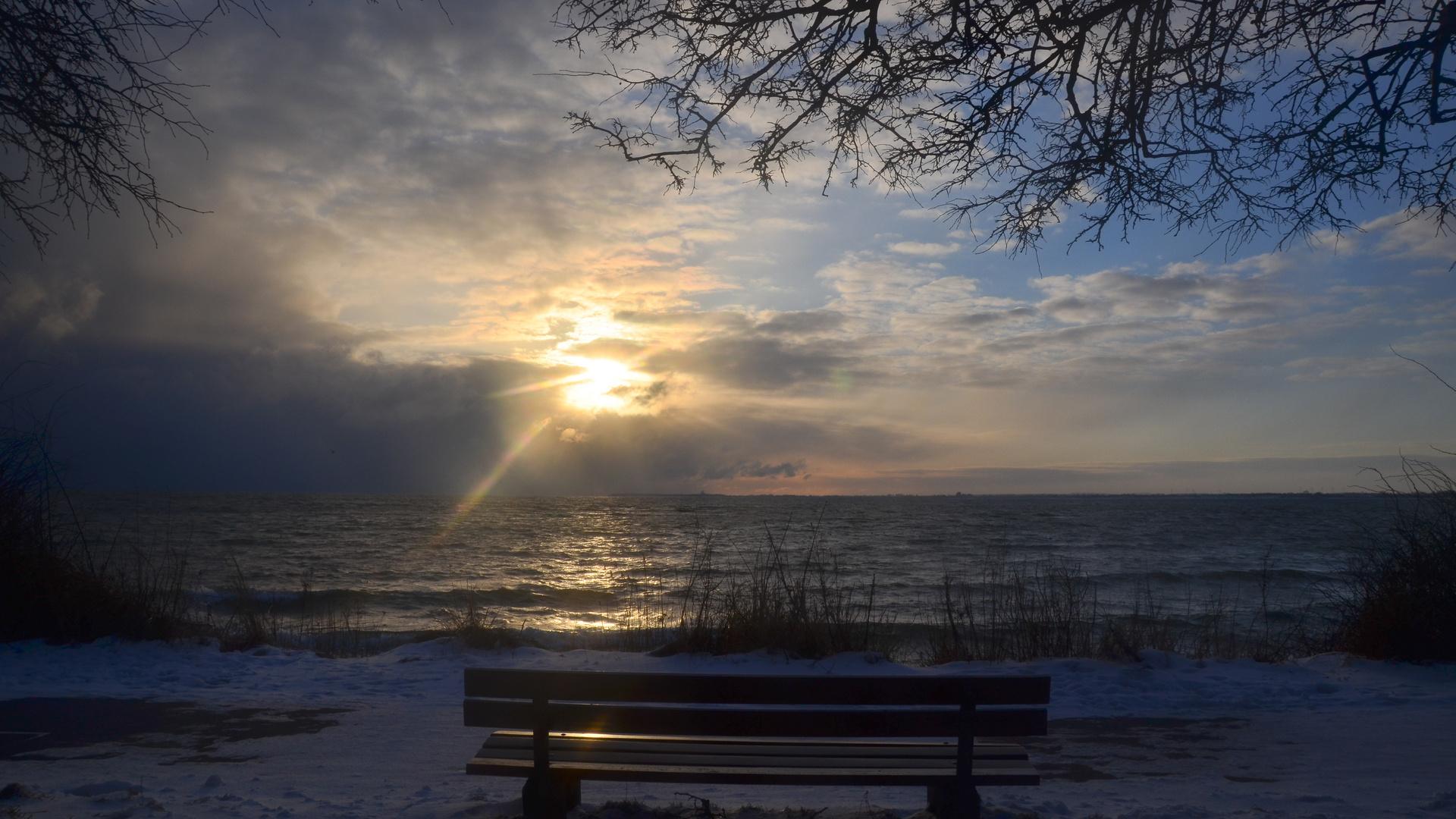 Frühjahrsmorgen an der Ostsee