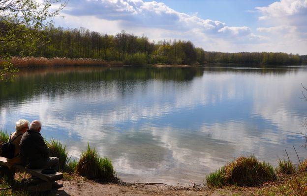 Frühling am Heide See