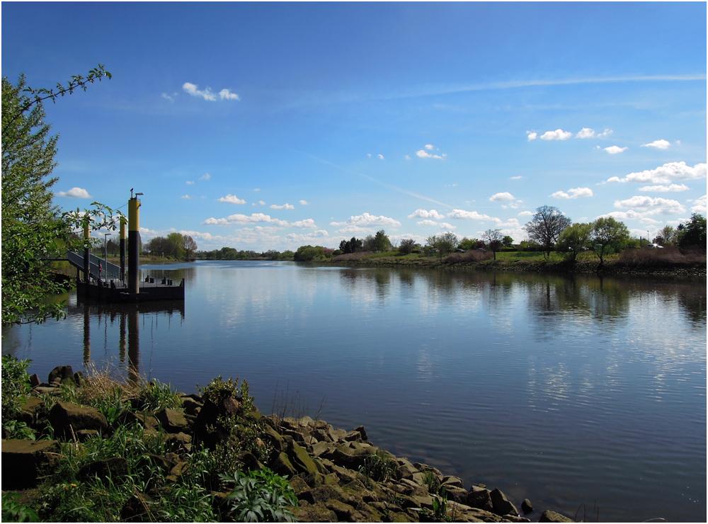 Frühling an der Weser