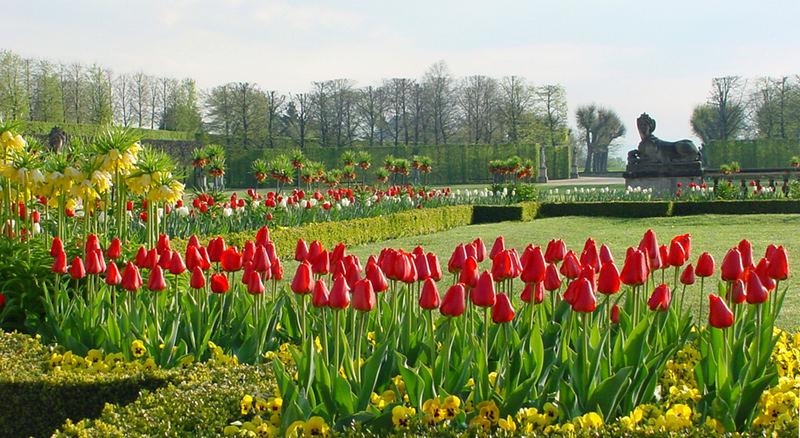 Frühling im Barockgarten Großsedlitz