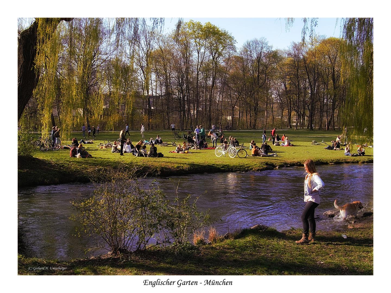 Frühling im englischen Garten