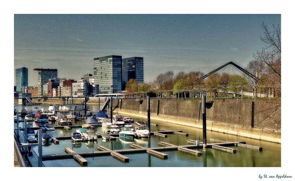 Frühling im Hafen
