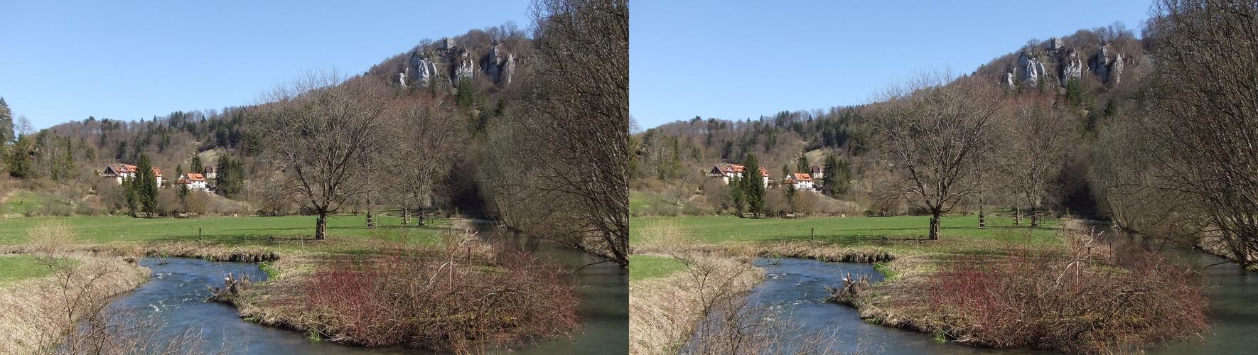Frühling im Lautertal (Schwäb. Alb)
