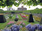 Frühling in den Gärten von Hampton Court