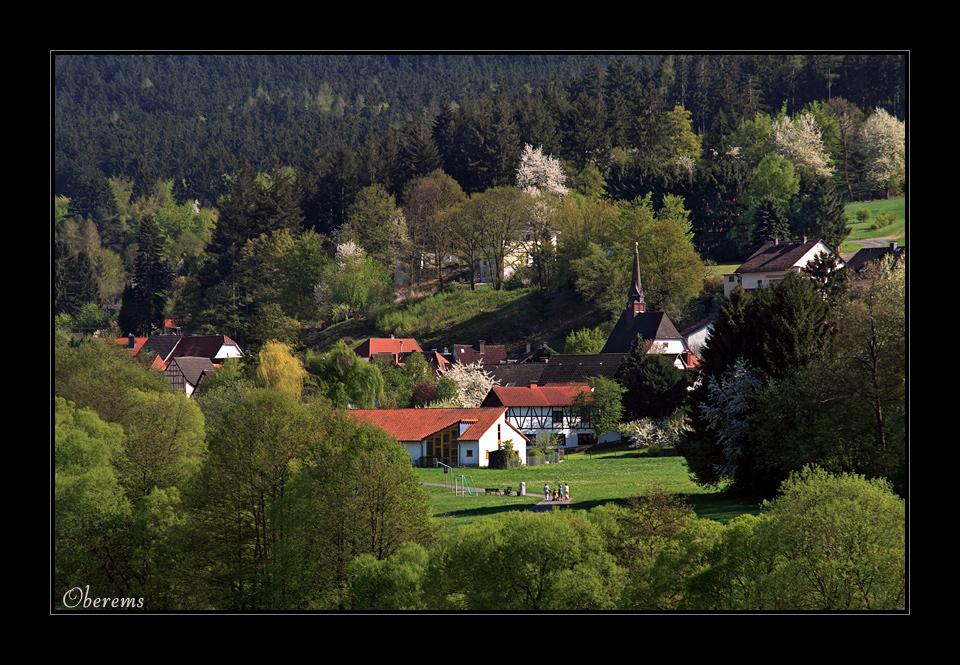 Frühling in Oberems