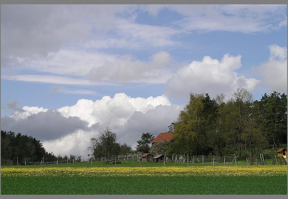 Frühling in Oberfranken