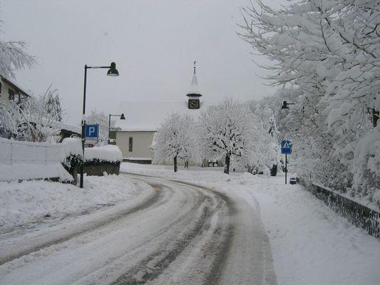 Frühling mit viel Schnee