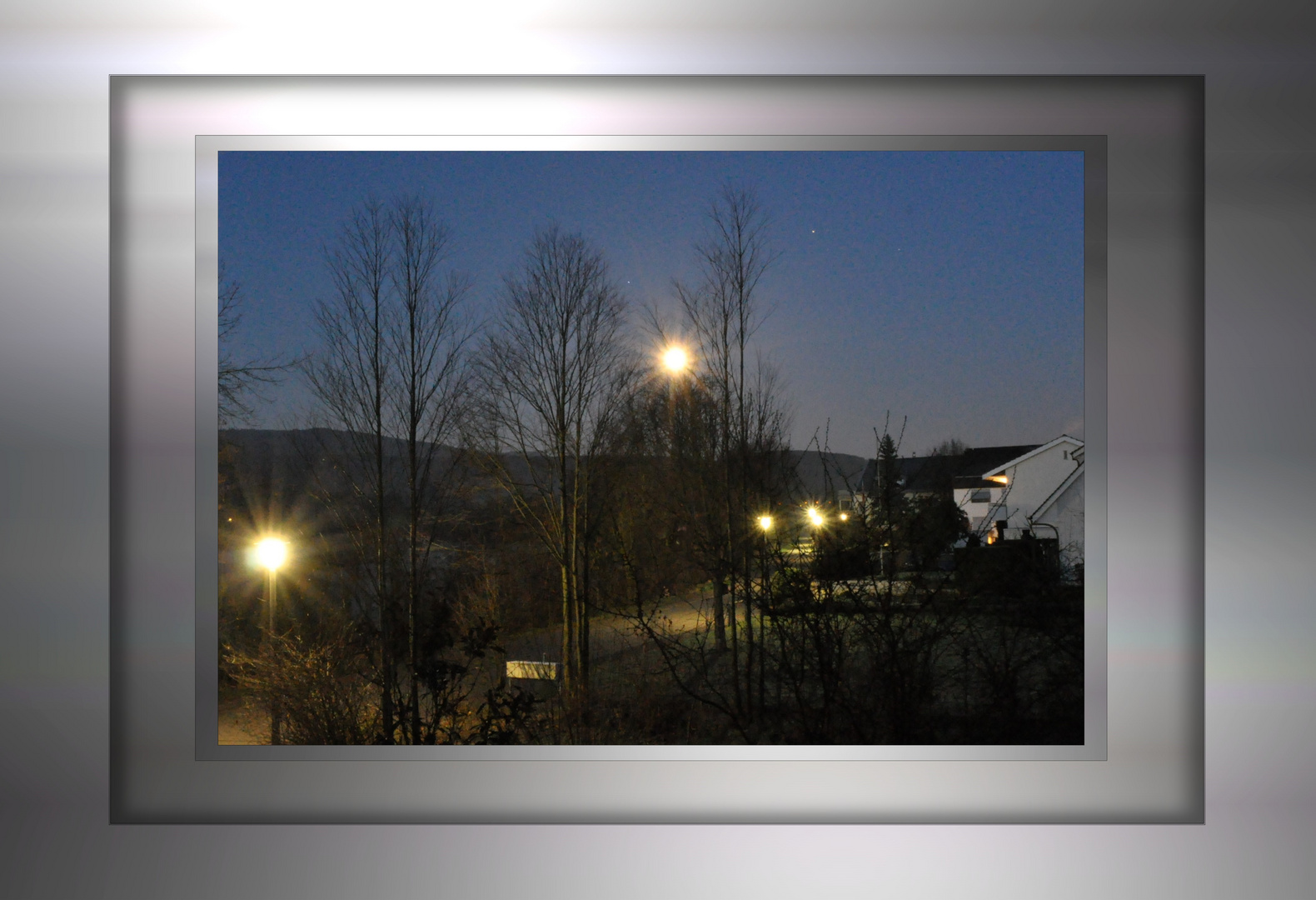Frühlingsanfang am 21.März 2011 04:45 bei uns am Schliefweg.