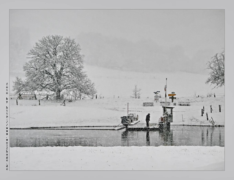 Frühlingsanfang an der Weser