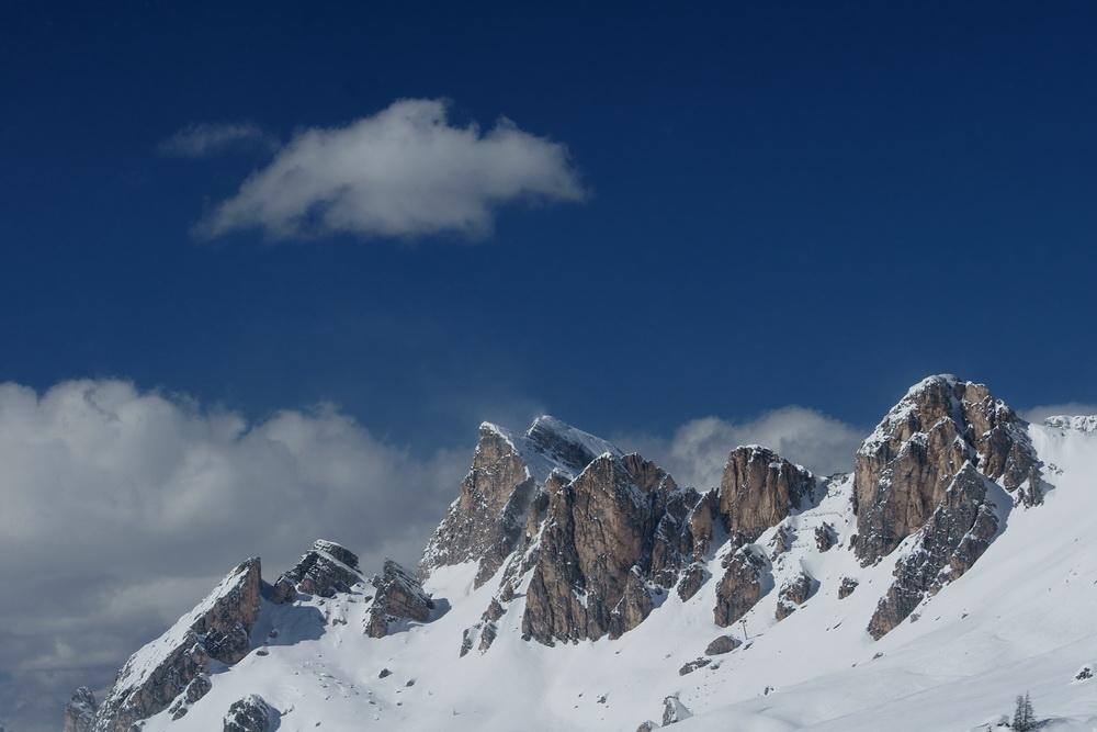 Frühlingsbeginn in den Dolomiten