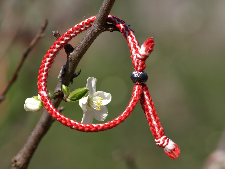 Frühlingsbrauch in Bulgarien