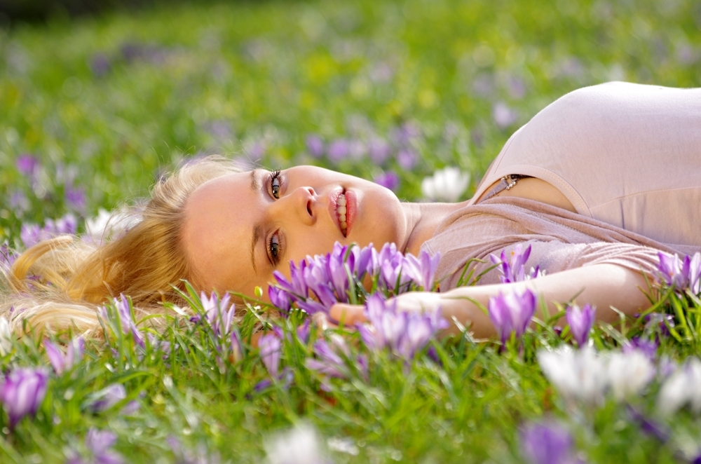 Frühlingserwachen in blond