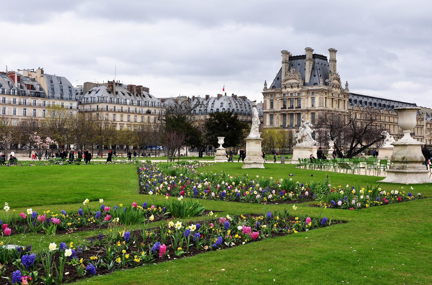 Frühlingserwachen in den Tuilerien
