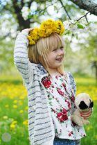 Frühlingsfrische Kinderfreude