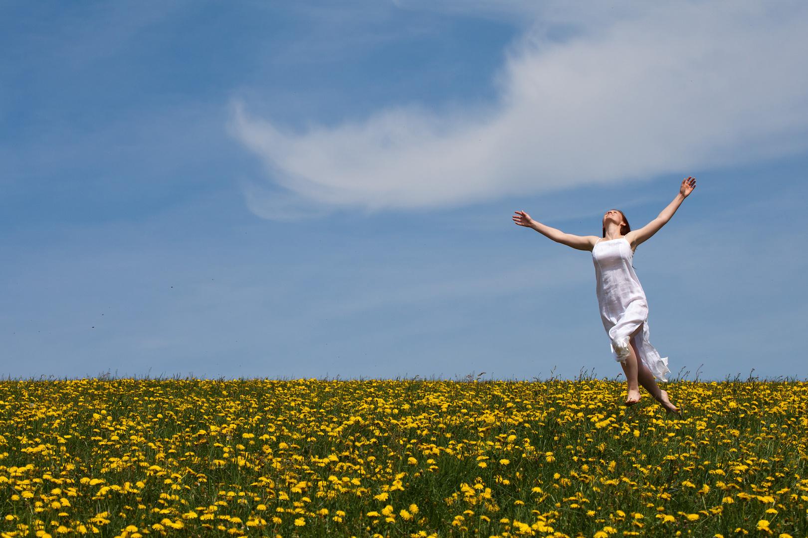 """Frühlingsgefühle - """"Veronika, der Lenz ist da, die Mädchen singen tralala …"""""""