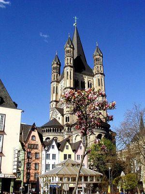 Frühlingsgrüsse aus Köln
