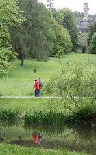 Frühlingsspiegelung im Bergpark Kassel