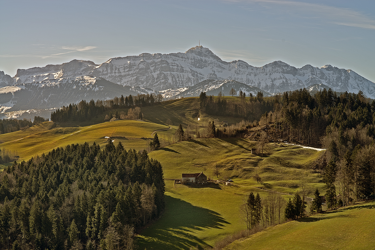 Frühlingsstimmung Appenzellerland