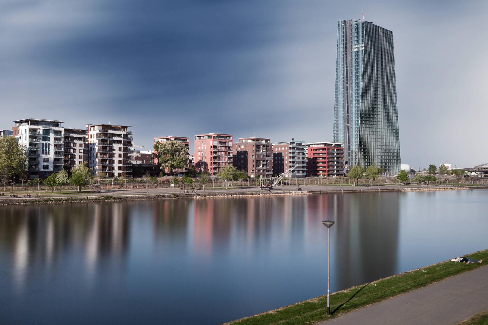 Frühlingstag in Frankfurt ©