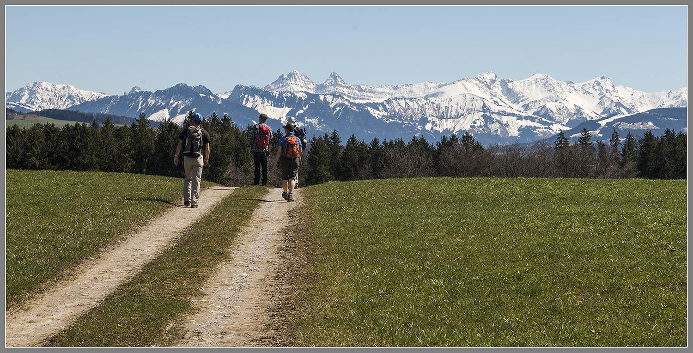 Frühlingszeit / Wanderzeit