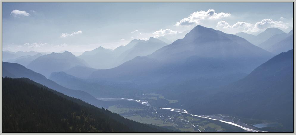 frühmorgendlicher Aufstieg zur Leilachspitze