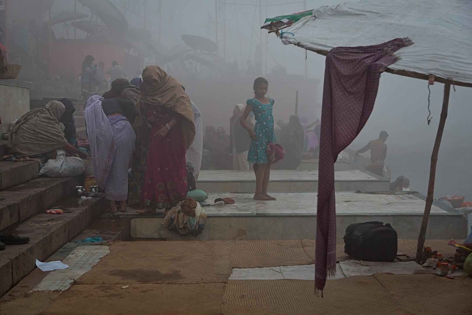 Frühmorgens am Ganges