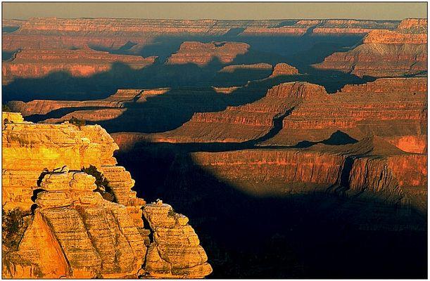 Frühmorgens am Grand Canyon
