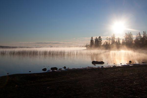 Frühmorgens am Green Lake