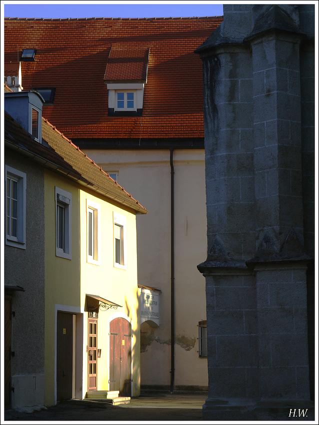 Frühmorgens in Braunau 2